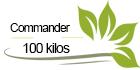Commander 100 kilos